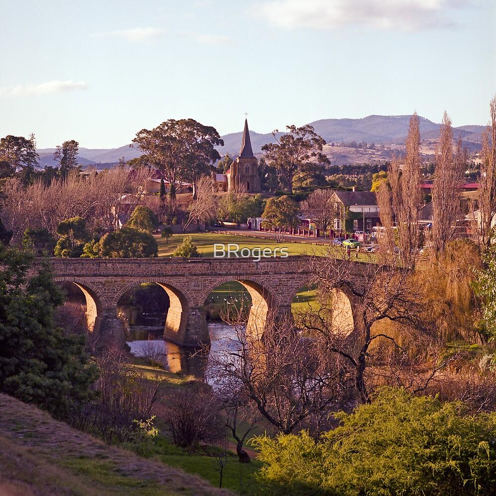 Winter, Richmond Bridge, Tasmania by Brett Rogers