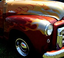 Flaming GMC by Amy Herrfurth