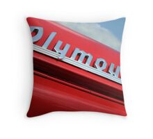 Plymouth and Sky Throw Pillow
