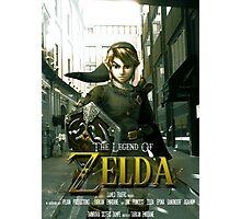 Legend of Zelda Movie Poster Photographic Print