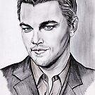 Leonardo DICAPRIO portrait by jos2507