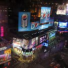 Times Square Lights by Polly Greathouse