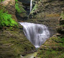 Stairway Through The Gorge by Sharon Batdorf