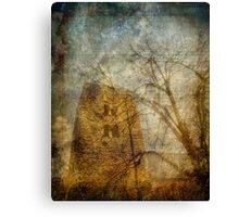 The Church Tower - Oxford Canvas Print