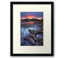 Coigach Sunrise. Far North West Highlands of Scotland. Framed Print