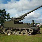 M40 155mm Gun Motor Carriage by mike  jordan.