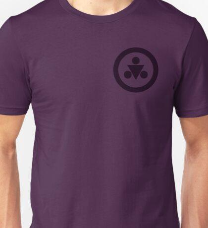 Shadow Medallion (small) Unisex T-Shirt