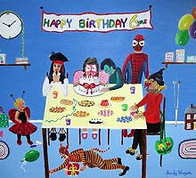 Birthday Party by Sandy Wager