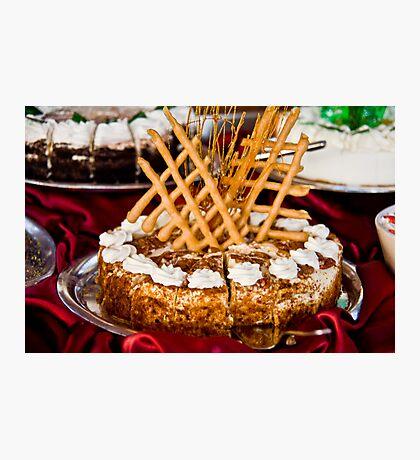 Cheesecake Extrodinaire Photographic Print