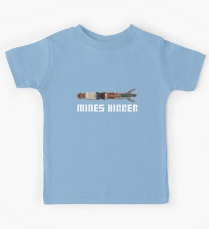The 11th Doctors is Bigger! Kids Tee