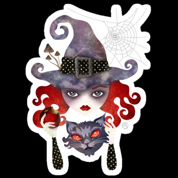 Maelba, the Red Witch by sandygrafik