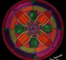 Flower Mandala by Fay Hartwell