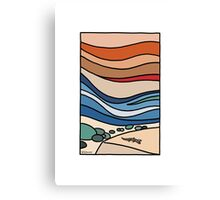 Shorncliffe - Layer upon layer Canvas Print