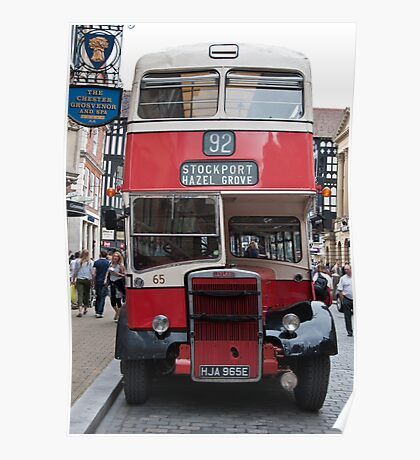 No 92 to Stockport Poster