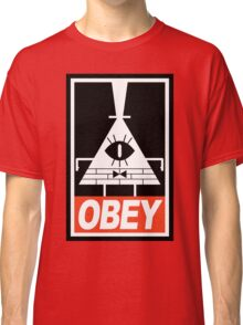 OBEY Bill Cipher Classic T-Shirt