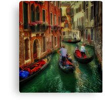 When In Venice Canvas Print