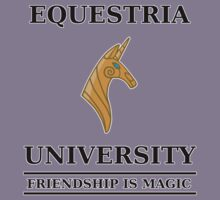Equestria University by RageGrenade