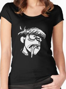 Murdoc Niccals' Decapitated Head (Gorillaz) Women's Fitted Scoop T-Shirt