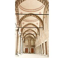 Colonnade of the Blue Mosque  Photographic Print