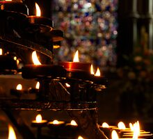 Flickering Prayers by Lisa Knechtel