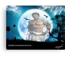 Apollo Moon Canvas Print