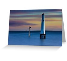 Beacon Cove Lighthouse Greeting Card