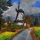 Old Mill - Boechout near Antwerp Belgium by Gilberte