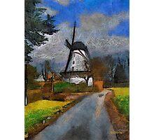 Old Mill - Boechout near Antwerp Belgium Photographic Print