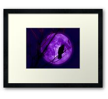 Calling Out To The Night Framed Print
