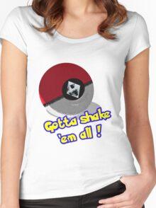 Gotta Shake 'em All Women's Fitted Scoop T-Shirt