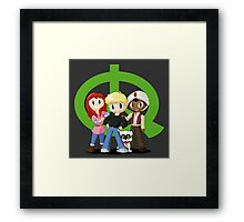 Quest Kids Framed Print