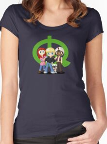 Quest Kids Women's Fitted Scoop T-Shirt