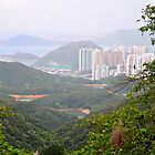 Hong Kong Skyline 3 by Polly Greathouse