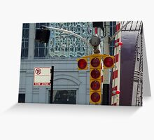Tow Zone Greeting Card