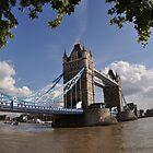 Tower Bridge of London by j0sh