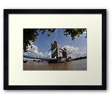 Tower Bridge of London Framed Print