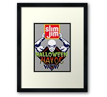 Halloween Havoc Framed Print