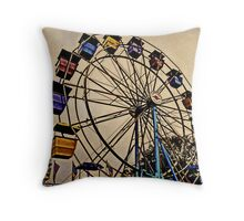 Yesterday at the Fair Throw Pillow