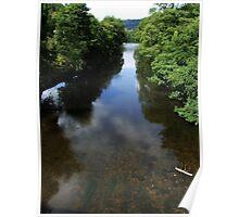 River Derwent at Whatstandwell Poster