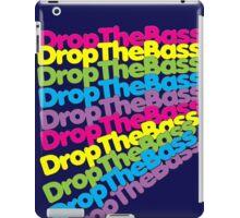 Drop The Bass (Rainbow Color)  iPad Case/Skin