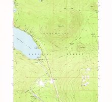 USGS Topo Map Oregon Odell Lake 280964 1967 24000 by wetdryvac