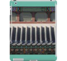 Korean Palace Roof iPad Case/Skin