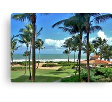 Rio Mar, Puerto Rico Canvas Print