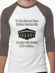 Ninja Attack! Men's Baseball ¾ T-Shirt