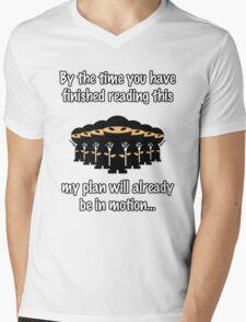 Ninja Attack! Mens V-Neck T-Shirt