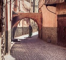The Streets of Marrakech by Conor MacNeill