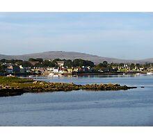 Irish Fishing Village Photographic Print