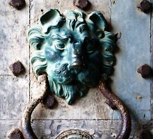 Knocker from Leeds Castle by Lisa Knechtel