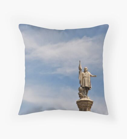 Plaza de Colon - Madrid Spain Throw Pillow
