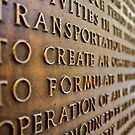 Transport Plaque by ACBPhotos